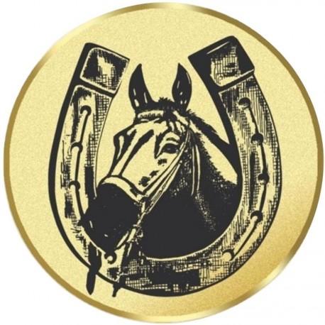 E 23 hlava koně s podkovou