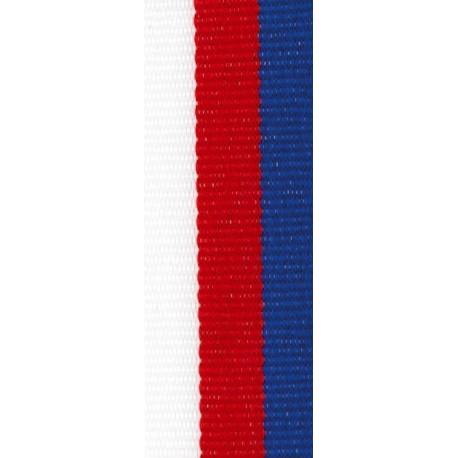 Stuha CZ bílá-červená-modrá