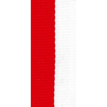 Stuha červeno-bílá