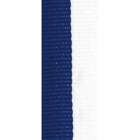 Stuha modro-bílá