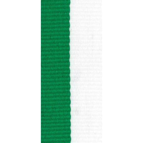 Stuha zeleno-bílá