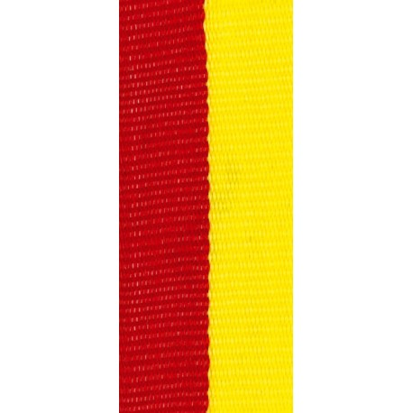 Stuha červeno-žlutá