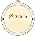 medaile 32mm