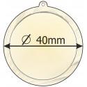 medaile 40mm
