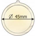 medaile 45mm