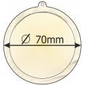 medaile 70mm